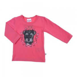 Imagem - Camiseta Manga Longa de Bebe - Brandili - cod. 6076 - 6076 - Rosa