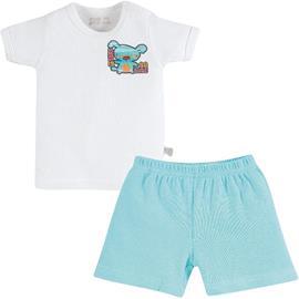 Conjunto de Bebê Camiseta e Shorts Zig Mundi