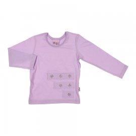 Imagem - Camiseta Infantil Gloss Color Girl - 6773-lilas