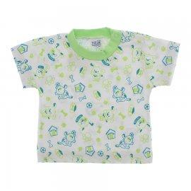 Imagem - Camiseta de Bebê - 10123-camiseta-dog-verde