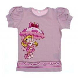 Imagem - Camiseta Infantil Penélope Charmosa  - 6176 - Lilás