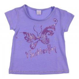 Imagem - Camiseta Infantil com Borboleta Color Mini  - 6760mod1