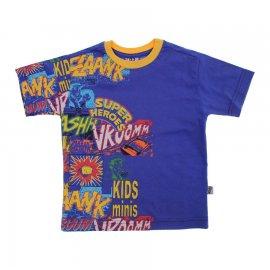 Imagem - Camiseta Infantil de Menino Manga Curta  - 6028-heroes