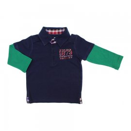 Imagem - Camiseta Infantil Manga Longa Polo 5866 - 5866 - Marinho