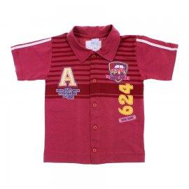 Imagem - Camiseta Polo de Menino - Gijo Kids - cod.6206 - 6206 - Beach Car