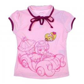 Imagem - Camiseta Infantil Penélope Charmosa  - 5982 - Rosa