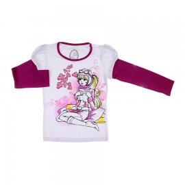 Imagem - Camiseta Manga Longa Penélope Charminho - 5964-coração