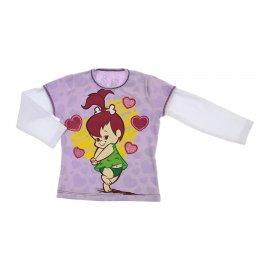 Imagem - Camiseta Infantil Pedrita - 6170-camiseta-ml-pedrita-lilas
