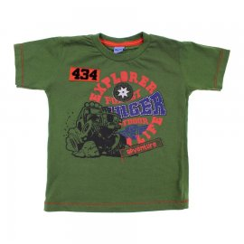 Imagem - Camiseta Infantil de Menino Manga Curta  - 6028-explorar