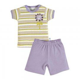 Imagem - Conjunto para Bebê em Malha Zig mundi - 7155-flor