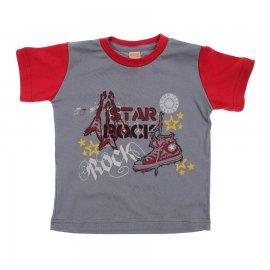 Imagem - Camiseta Infantil de Menino Manga Curta  - 6028-starrock