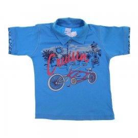 Imagem - Camiseta de Menino Infantil Gola Polo  - 6029-bike