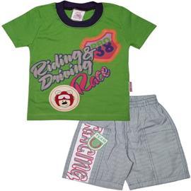 Imagem - Conjunto Infantil para Menino Race - 4836-Conj. Infantil Race Verde