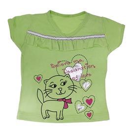 Imagem - Camiseta Gatinha Love - Cód. 7839 - 7839modelo1