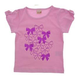 Imagem - Camiseta Infantil Manga Curta Lacinhos 8751 - 8751
