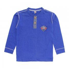 Imagem - Camiseta Infantil Manga Longa Bonnemini  - 6896-Camiseta ML boneminni azul