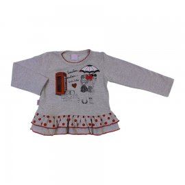 Imagem - Camiseta Infantil Menina Babadinhos  - 6590