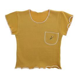 Imagem - Camiseta Infantil Menina com Bolso Bordado - 9074 - 9074
