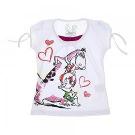 Imagem - Camiseta Infantil Pedrita  - 5983 - Branco