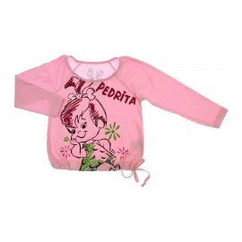 Imagem - Camiseta Infantil Menina Pedrita - 6148 - 6148 - Rosa