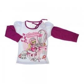 Imagem - Camiseta Manga Longa Penélope Charminho - 5964 - Branco
