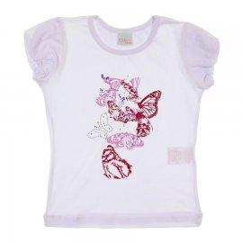 Imagem - Camiseta Manga Curta para Menina Color Mini 6766 - 6766