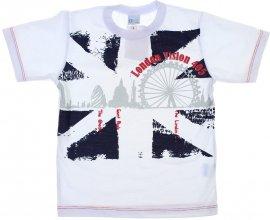 Imagem - Camiseta Infantil de Menino Manga Curta  - 6028-london