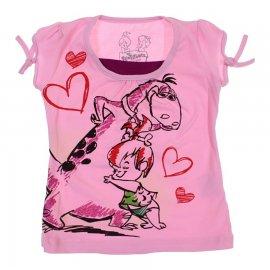 Imagem - Camiseta Infantil Pedrita  - 5983-camiseta-mc-pedrita-rosa