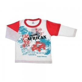Imagem - Camiseta Infantil Manga Longa  - 6043 - Africa 2
