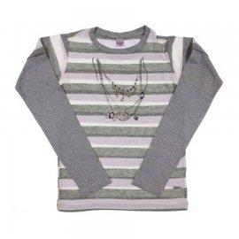 Imagem - Camiseta Infantil Listrada Collar - 6894-Camiseta Infantil Listrada Col