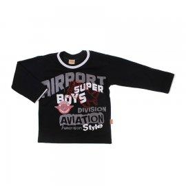 Imagem - Camiseta Infantil Manga Longa  - 6636-boys