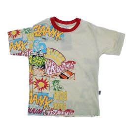 Imagem - Camiseta Infantil de Menino Manga Curta  - 6028-heroes1