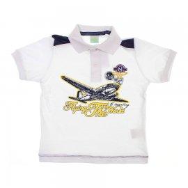 Imagem - Camiseta de Menino Infantil Gola Polo  - 6029 - Flying