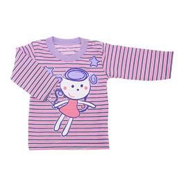 Imagem - Camiseta Bebê Manga Longa Menina - 7599 Camiseta Bebê Manga Longa Meni
