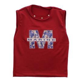 Imagem - Camiseta Regata para Menina - cod. 7990 - 7990-vermelho