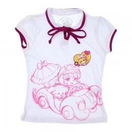 Imagem - Camiseta Infantil Penélope Charmosa  - 5982 - Branco