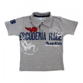 Imagem - Camiseta de Menino Infantil Gola Polo  - 6029 - Escuderia