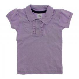 Imagem - Camiseta Polo Feminina com Babados Dindon - 10206-camiseta-polo-babados-lilas
