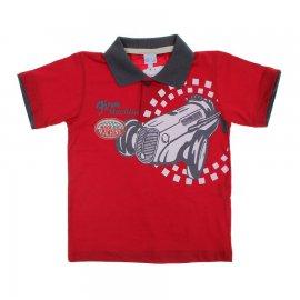 Imagem - Camiseta de Menino Infantil Gola Polo  - 6029 - Race