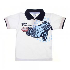 Camiseta de Menino Infantil Gola Polo