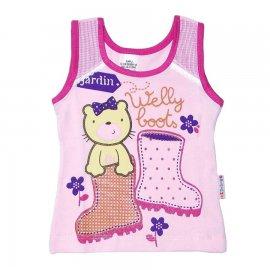 Imagem - Regata Infantil Menina Welly Boot - 4847-Regata Infantil Welly Boot Ros