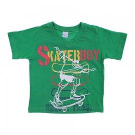 Imagem - Camiseta Infantil de Menino Manga Curta  - 6028-skate