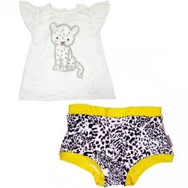 Imagem -  Camisete e Sunkini Infantil Siriri - 21058-camisete-sunkini-oncinha