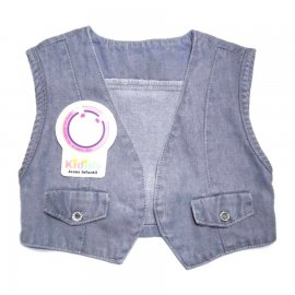 Imagem - Colete Jeans Infantil Country - 4869-Colete Jeans Country Azul dela