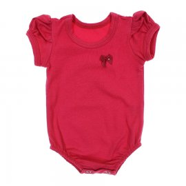 Imagem - Collant Cotton Bebê Menina - 6315 Vermelho