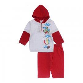 Imagem - Conjunto Bebê Moletinho Estampado - 9965-conjunto-moletinho-vermelho-av