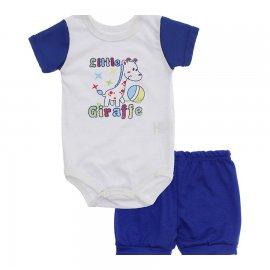 Imagem - Conjunto Body e Short para Menino Lapuko - 10285-conj.body-short-girafa-royal