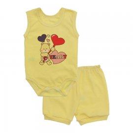 Imagem - Conjunto Body Regata e Shorts Menina - 10243-conj.regata-short-heart-amare
