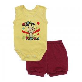 Imagem - Conjunto Body Regata e Shorts Menino - 10244-conj.regata-short-hug-vinho