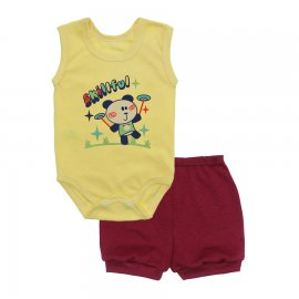 Imagem - Conjunto Body Regata e Shorts Menino - 10244-conj.regata-short-skilfull